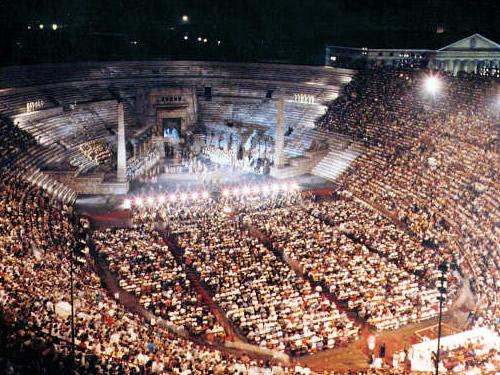 Arena di Verona San Valentino